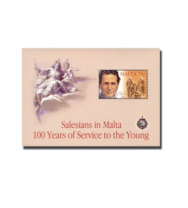 MALTA MINIATURE SHEET SALESIANS
