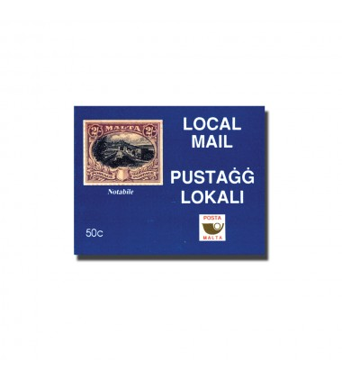 Blue Cover - Local Mail Rates 1 pane (10) of 5c
