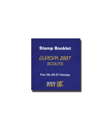 Sheetlet of 5 Europa Stamps of 16c each