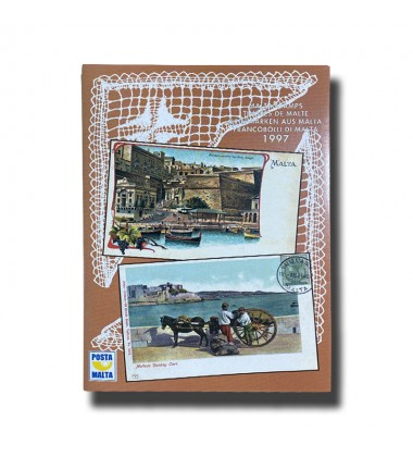 1997 Malta Stamps Yearpack complete