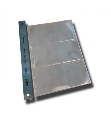 Leuchtturm Vario 3C Pages Pack of 5 Transparent - 216mm x 280mm