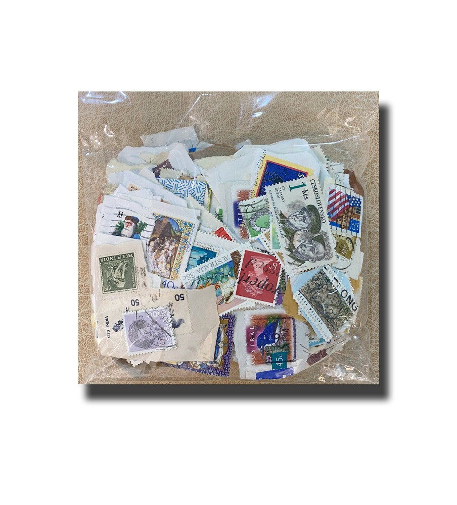 Foreign Stamps  100gr.