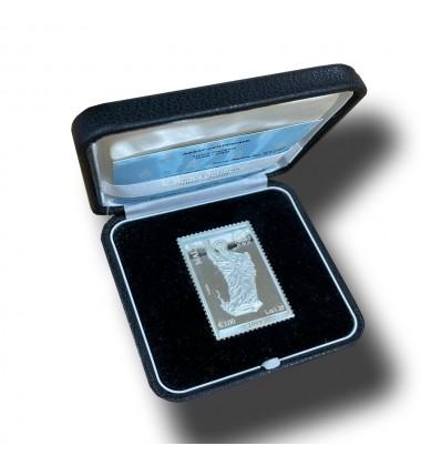 2008 ANNUS PAULINUS SILVER COIN SILVER STAMP