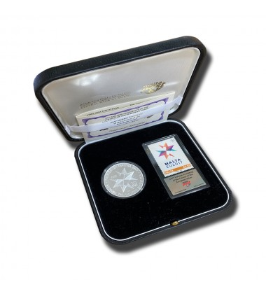 2017 MALTA COIN & STAMP PRESIDENCY OF THE EU COUNCIL PROOF