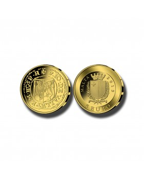 2013 MALTA - 5 EURO PICCIOLO COMMEMORATIVE GOLD COIN PROOF GOLD