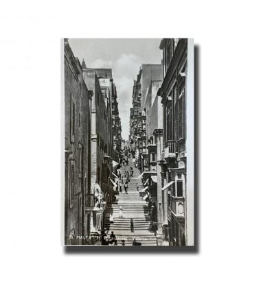 Malta Postcard - St Lucia Street, Used