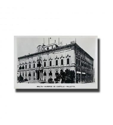 Malta Postcard - Auberge De Castille, Valletta. Alf.Galea Zammit, New Unused