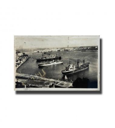 Malta Postcard - Grand Harbour. Alf. Galea Zammit, New Unused