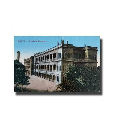 Malta Postcard - Floriana Barracks, New Unused