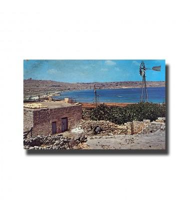 Malta Postcard - Mellieha Bay New Unused