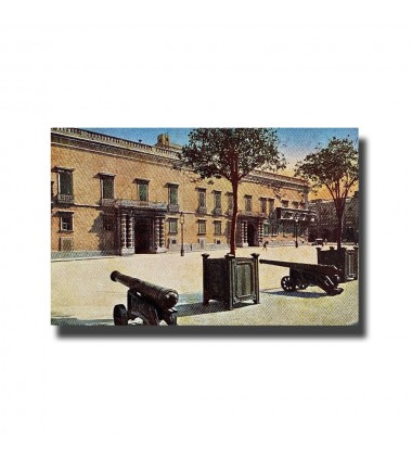 Malta Postcard The Public Library New Unused Made in Italy