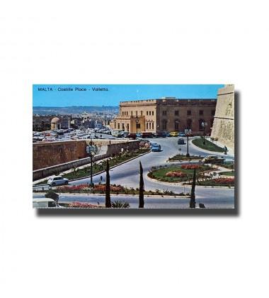 Malta Postcard - Castille Place Valletta New Unused