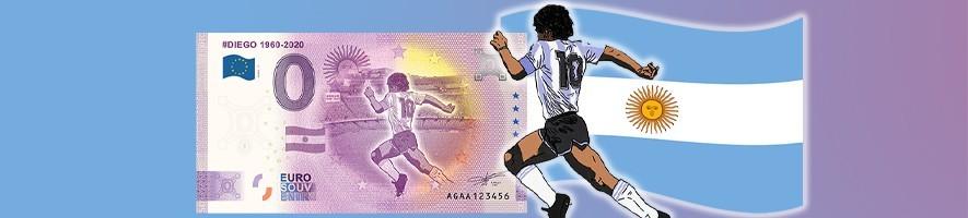 Argentina 0 Euro Banknote