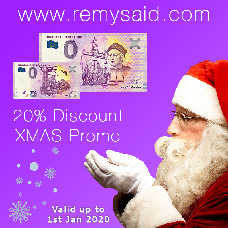 20% Discount on All Euro Banknotes