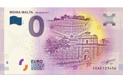New Arrival 2019-1 MDINA 0 Euro Banknote FEAE